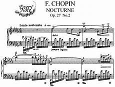 chopin nocturne op 27 no 2 piano sheet music download