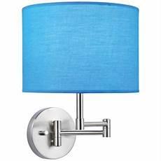lite source kasen blue shade polished steel wall l swing arm wall ls wall l design