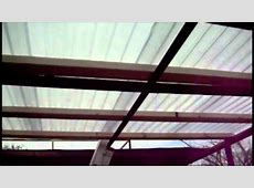 Inspirations: Simple Roof Design Ideas With Corrugated