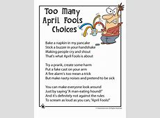 april fools jokes to say