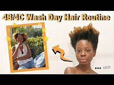 my 4b 4c natural curly hair wash day routine 2019 youtube