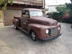 ford 1950 f1 f100 short bed v8 auto old school rod patina custom cruiser gt