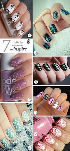7 polka dot nail art designs to inspire