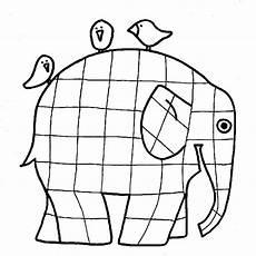 malvorlage elefant elmar tiffanylovesbooks