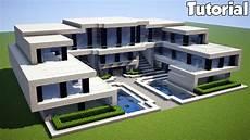 Modern House Minecraft Zion