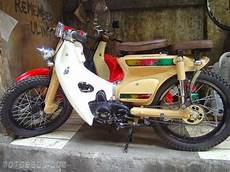 Modifikasi Kap 70 by Modifikasi Motor Honda 70 Klasik Elegan