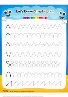 easy handwriting worksheets 21373 draw simple lines handwriting practice worksheet free printable puzzle