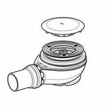 Siphon Pour Geberit D90 Avec Cache Pour Ouverture
