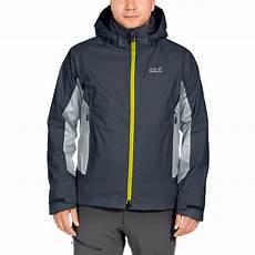 wolfskin herren doppeljacke 3in1 base jacket