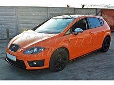 seat cupra facelift seat 1p cupra fr facelift master side skirts
