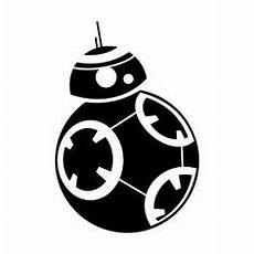 star wars the force awakens bb 8 ball droid decal sticker car window oracal pinterest bb