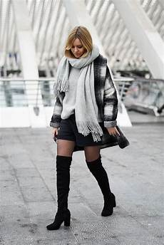 Chic En Ootd Mode Hivernale Cuissardes Style Et