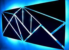 quot fracture quot lighted metal wall art sculpture with led color changing lig dv8 studio