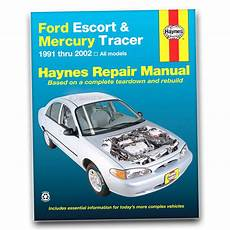book repair manual 2001 ford escort parking system haynes repair manual for 1991 2002 ford escort shop service garage book gn ebay