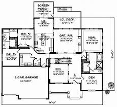 5 bedroom house plans 1 story traditional style house plans 4381 square foot home 1