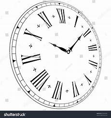 illustration of an old clock face with perspective angle eps8 vector 81856426 shutterstock