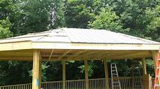 2013 07 01 how to install a steel roof gazebo youtube