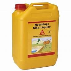 Hydrofuge Liquide Beton Et Mortier Sika Pour Hydofuger Et
