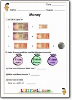 money worksheets for grade 3 india 2538 money worksheet class 1 money addition math resource for teachers