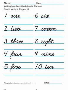 cursive writing numbers worksheets 21105 writing numbers worksheets cusive 1 100