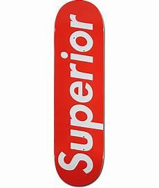 supreme skateboarding superior white 8 375 quot skateboard deck at zumiez pdp
