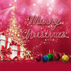 merry christmas backdrops surprise gifts colored ball halo holiday stage background