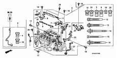2008 2010 Honda Odyssey 5 Door Wire Harness Engine 32110