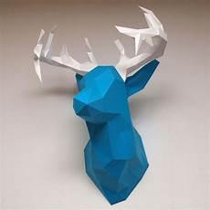 Diy Papier Hirsch Origami 3d Origami Und 3d