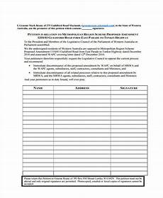 free 7 community petition in pdf