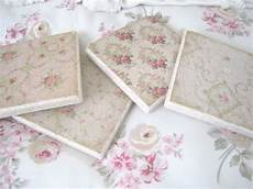 The Porcelain So Shabby Chic Tile Coasters