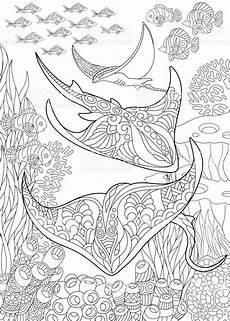 Ausmalbilder Erwachsene Meer Ausmalbilder Erwachsene Unterwasser Tiffanylovesbooks