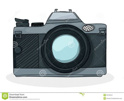 Kamera Tecknad