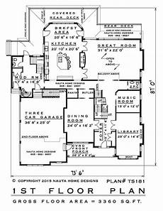 6500 square foot house plans 5 bedroom two storey house plan ts181 6500 sq feet