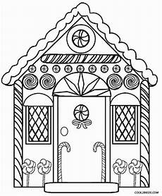 gingerbread house coloring pages to print coloring home