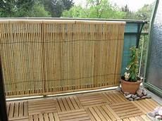 bambusmatte balkon f 252 r sichtschutz f r garten terrasse und