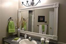 Framed Bathroom Mirror Ideas Bathroom Mirrors Ideas Frames Vanities Click To Find Out