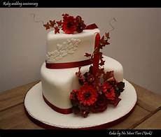 Ruby Wedding Anniversary Flowers