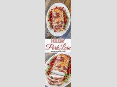 pork loin with orange dijon sauce image