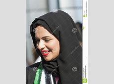 Arabic woman wearing hijab editorial stock photo. Image of