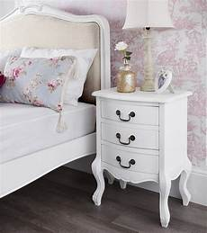 Shabby Chic Furniture - shabby chic white upholstered bed