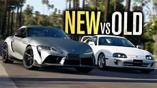 New Vs Toyota Supra Drag Runs Mk5 Vs Mk4