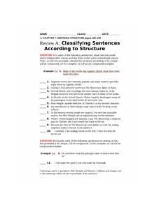 classifying nouns worksheets for 3rd grade 7977 classifying sentences worksheet