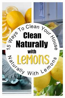 15 Ways To Clean With Lemons