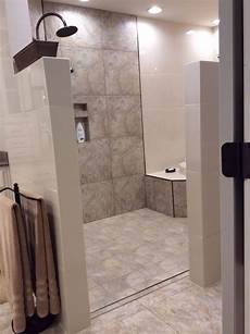 Bathroom Ideas No Tub by Walk In Shower And Tub Area No Door To Clean Loving It
