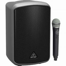 Bluetooth Speaker Wireless Microphone Audio Living by Mpa200bt 8 Quot 200w Portable Bluetooth Speaker With Wireless