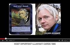 julian assange illuminati 1995 illuminati card 02 quot most important