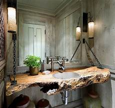 Bad Rustikal Gestalten - rustic bathrooms