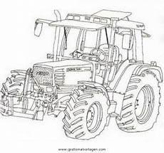 Gratis Malvorlagen Traktoren Fendt Traktor Gratis Malvorlage In Baumaschinen