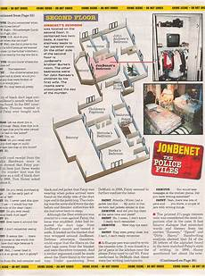 jonbenet ramsey house floor plan map of the ramsey s boulder home 2nd floor jonbenet
