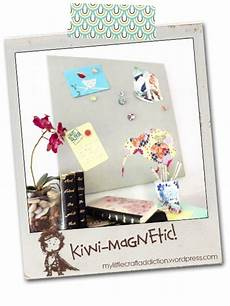 diy magnetwand diy magnetic board